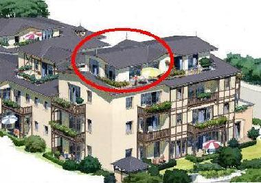 ferienwohnung k hlungsborn 3 zi penthouse fewo seestern residenz k hlungsborn ferienwohnung. Black Bedroom Furniture Sets. Home Design Ideas