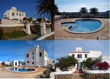 Ferienhaus ferreires casa rural con piscina privada para for Casa rural para 15 personas con piscina