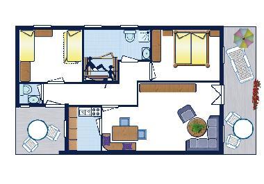bilder ferienhaus lechbruck am see deutschland lechbruck am see ferienhaus mit sauna im. Black Bedroom Furniture Sets. Home Design Ideas