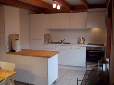 bilder ferienhaus wenduine belgien fischerhaus olivia - Kleine Offene Küche