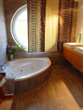 ferienhaus kosel-bohnert marina hülsen, haus 30 - das ... - Badezimmer Mit Sauna Und Whirlpool