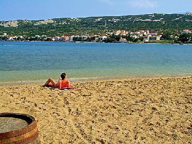 bilder ferienwohnung stara novalja kroatien ferienhaus direkt am sandstrand ruhige lage. Black Bedroom Furniture Sets. Home Design Ideas