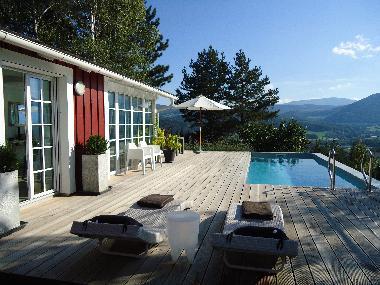 Moderne häuser mit pool in österreich  Ferienhaus Gloggnitz (Ortsteil Stuppach) 'hus am berg' Ferienhaus ...