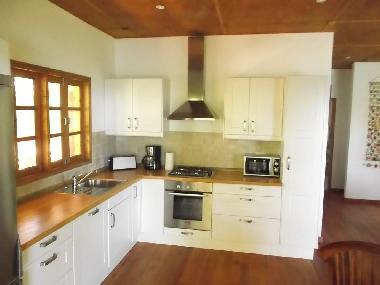 Die küche  Ferienwohnung Glacis Beach Villa Glacis Ferienwohnung Seychellen ...
