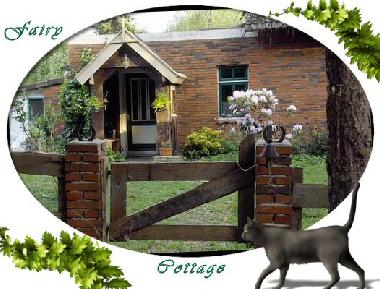 Eingang Fairy Cottage